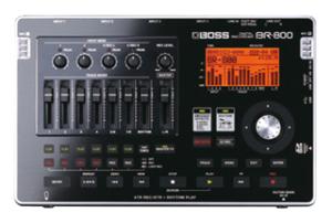 boss br800 recorder opnemen zonder computer