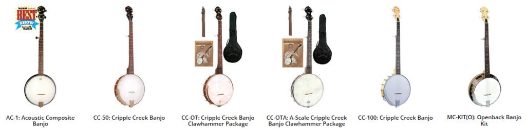 gold tone banjo open back