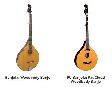 gold tone banjola