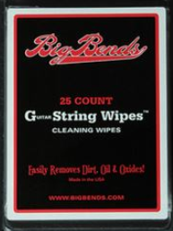 onderhoud gitaar big bends string wipes