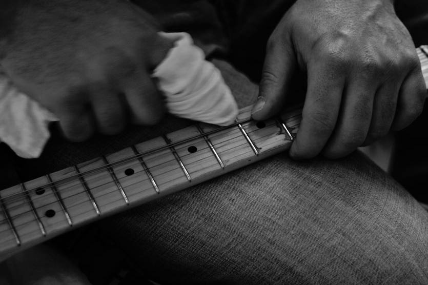 onderhoud gitaar