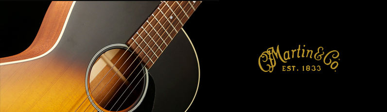 martin guitars showcase
