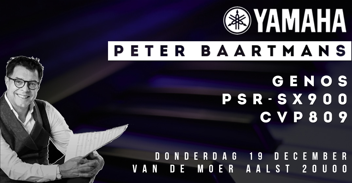 Yamaha Demonstratie met Peter Baartmans