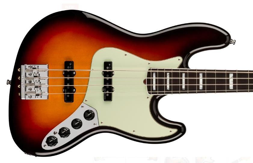 fender american ultra jazz bass 4