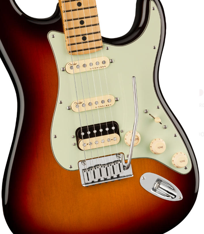 fender american ultra stratocaster HSS 5