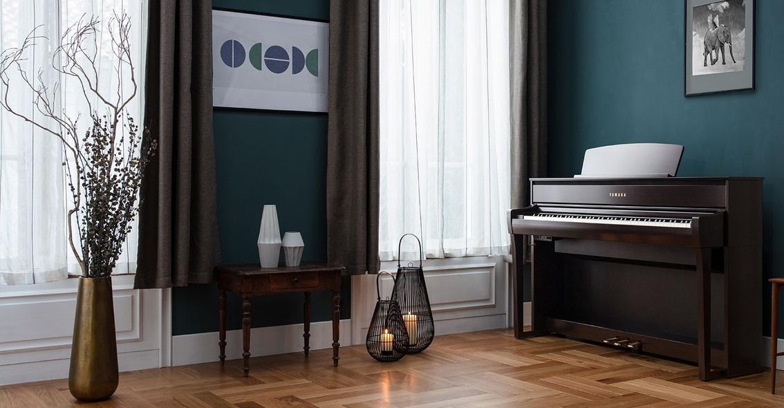 Yamaha CLP-700 serie digitale piano's.