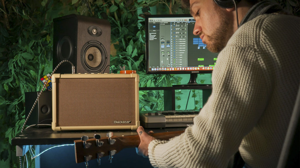 Blackstar Acoustic Core in Studio
