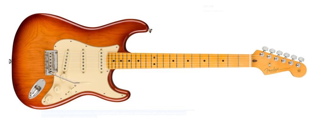 Fender American Professionel II stratocaster