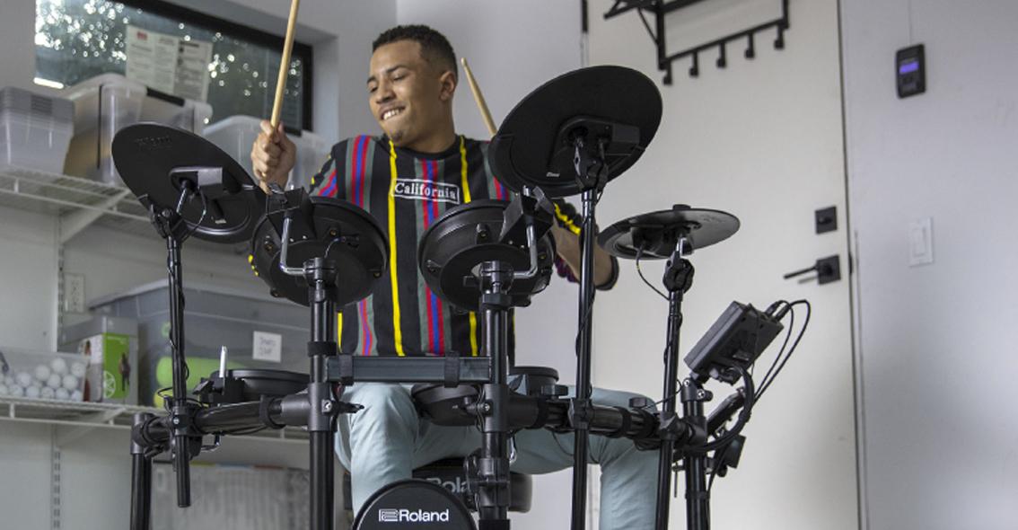 Een Elektronisch Drumstel Kiezen