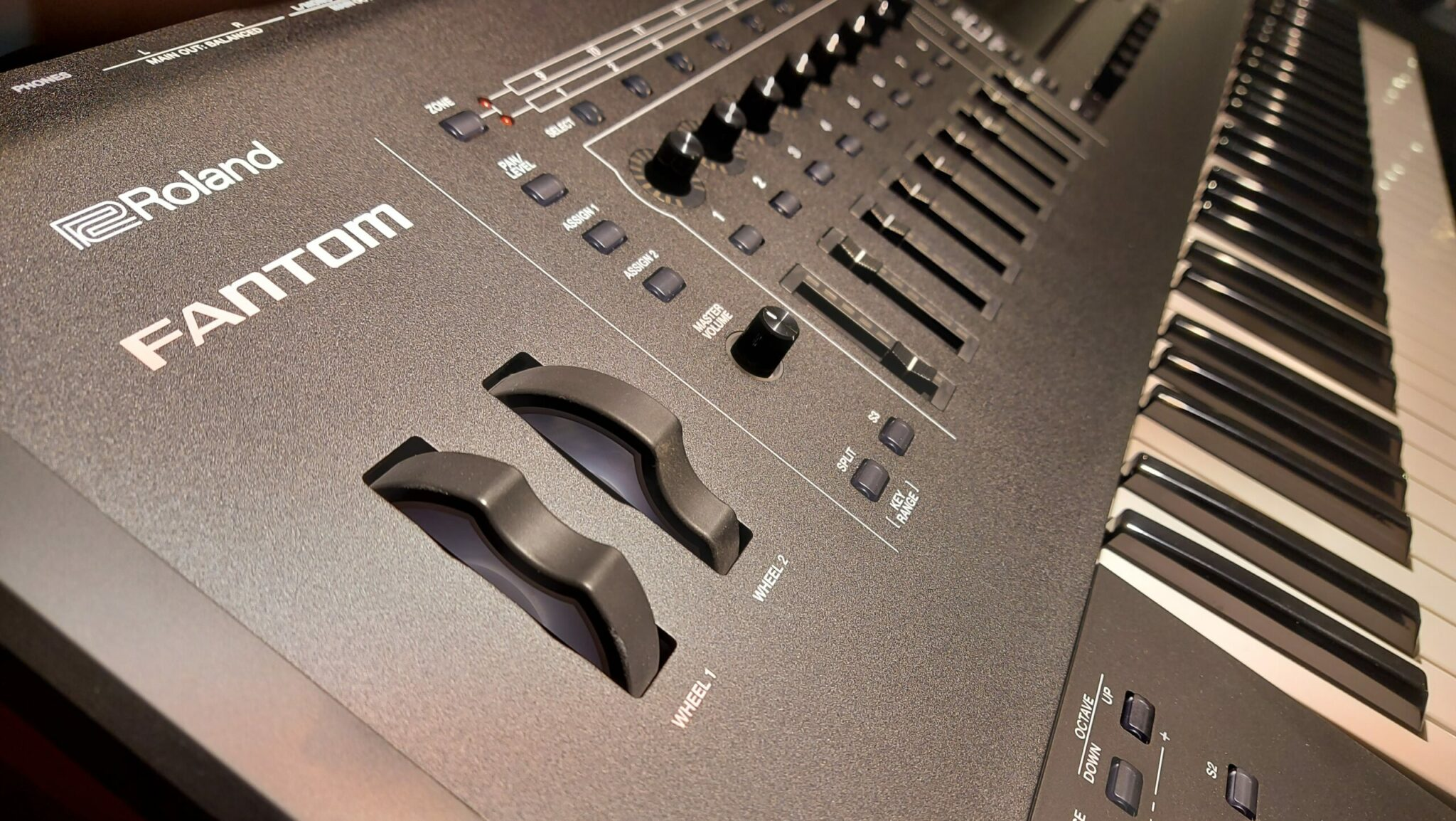 Roland Fantom update V2.10