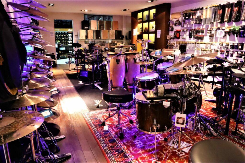 Elektronisch drumstel kiezen