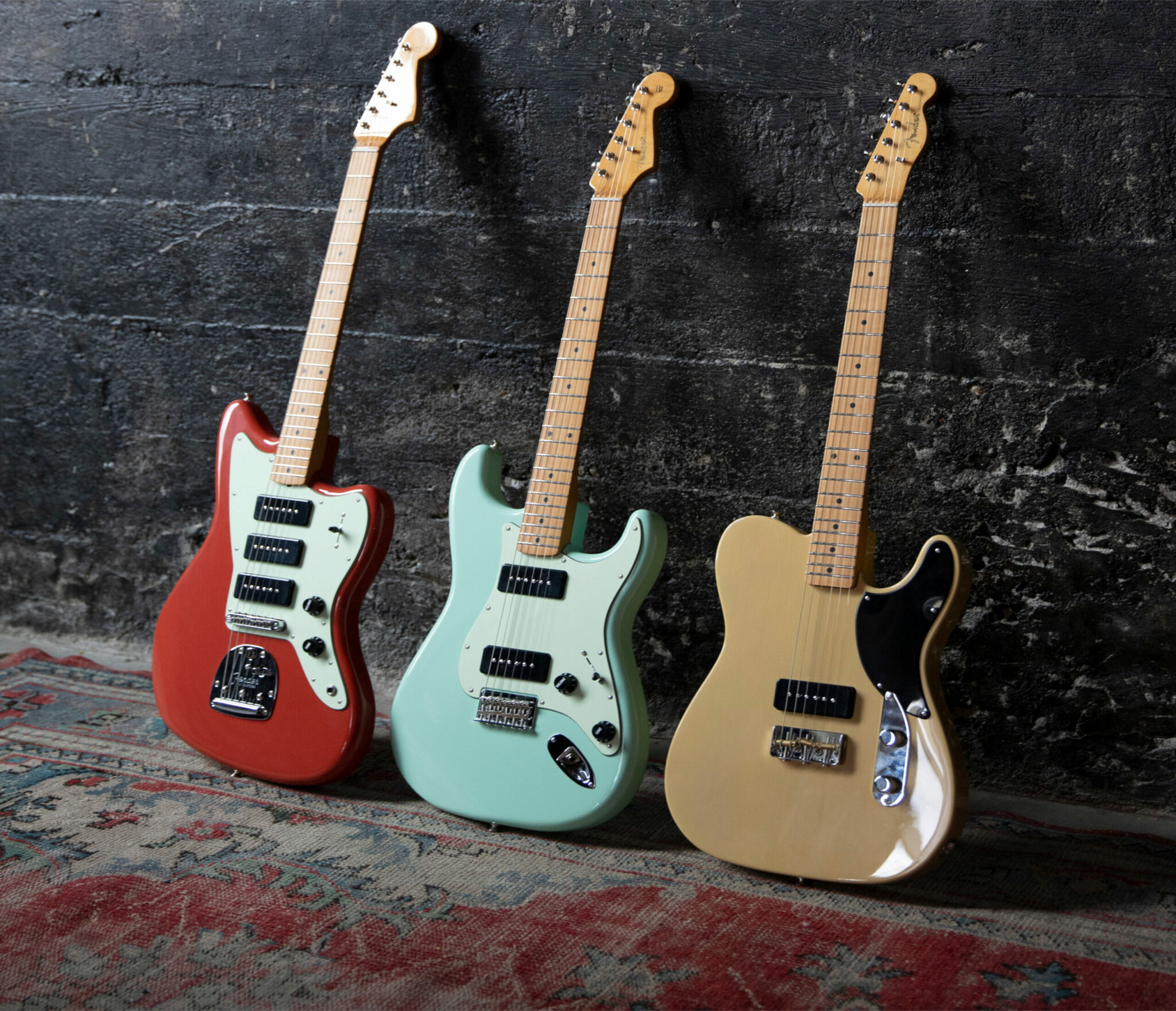 De nieuwe Fender Noventa Series