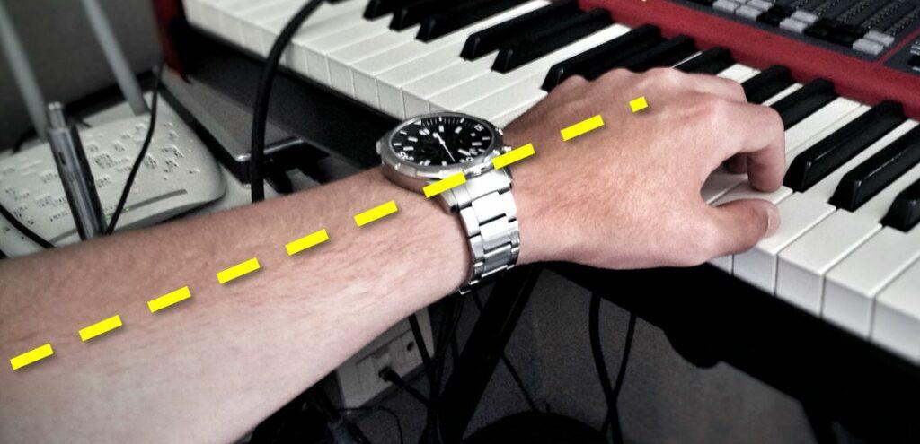 Pianobank met correcte hoogte