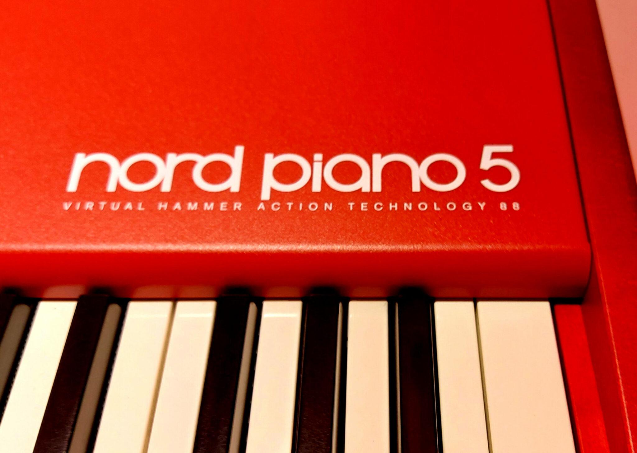 De nieuwe Nord Piano 5 is er!